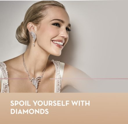 Spoil yourself with diamonds