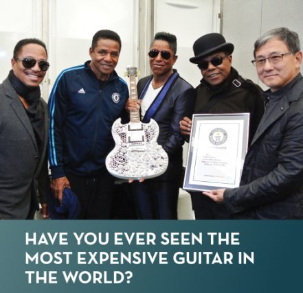Have you ever seen the most expensive guitar in the world?