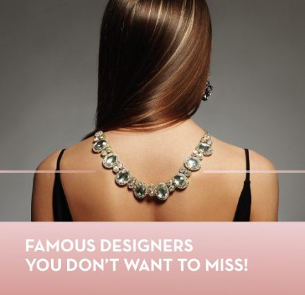 Famous designers you don't want to miss!
