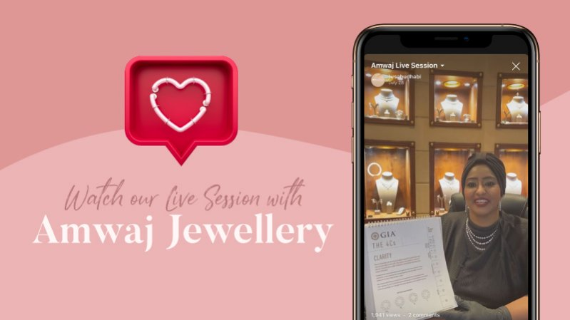 Did you watch our Live Session with Amwaj Jewellery?